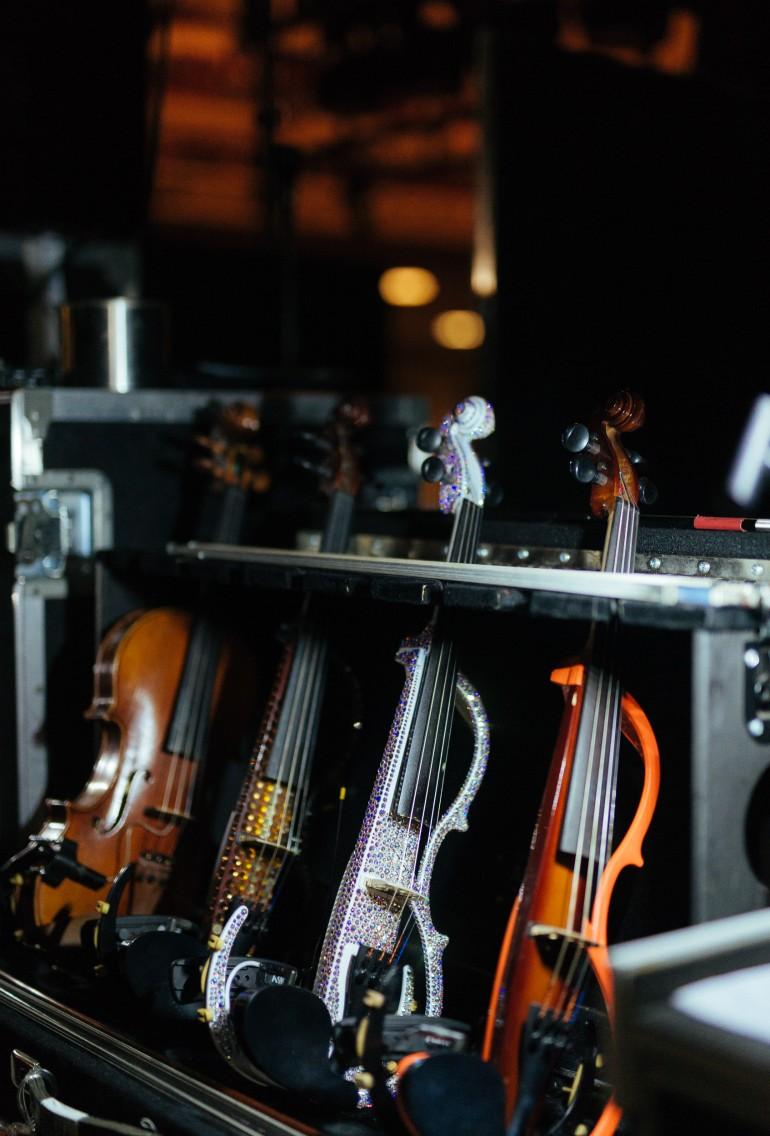 Lindsey Stirling's violins