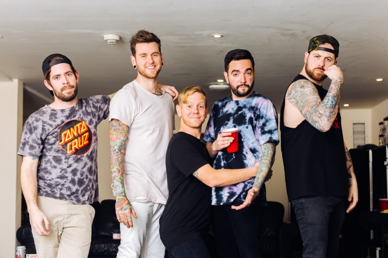 They said it was too weird to post. So, I posted it - A Day To Remember UK Arena Tour
