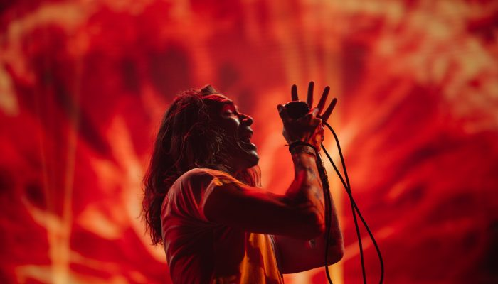 Brandon Boyd of Incubus at KROQ Weenie Roast 2017