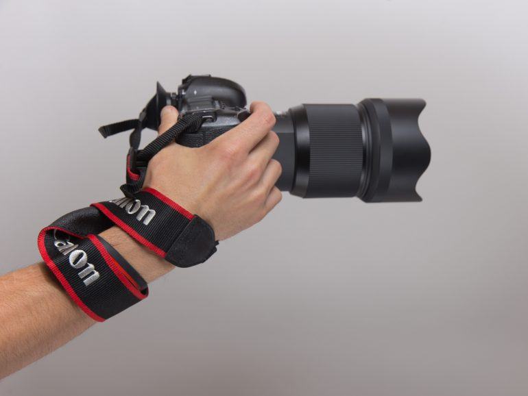 wrap around wrist tight, which will help prevent Photographer Wrist