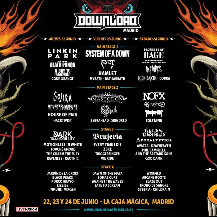 Tour Photographer in Europe at Download Madrid