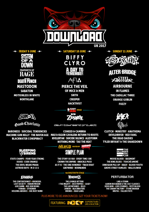 Tour Photographer in Europe at Download UK 2017