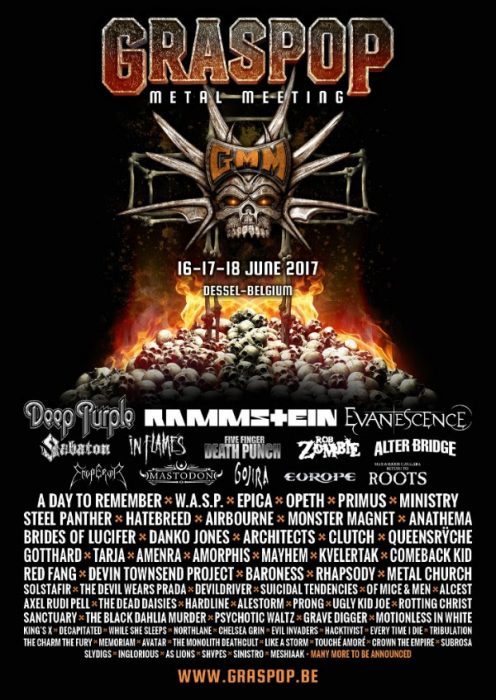 Tour Photographer in Europe at Graspop