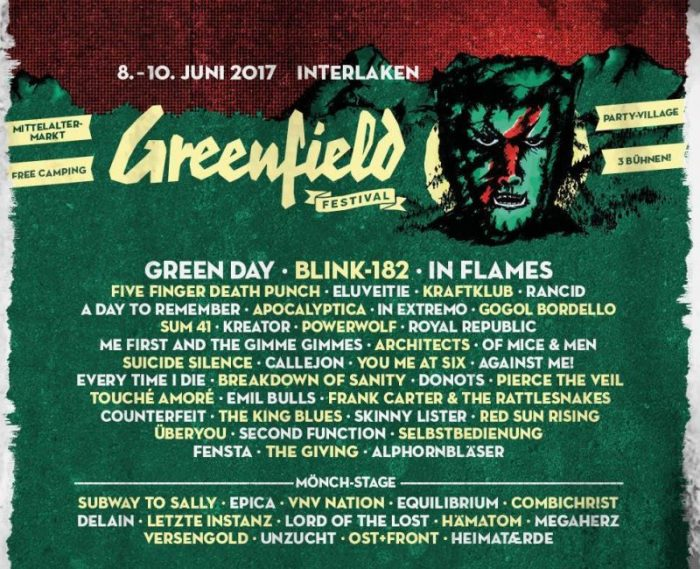 Tour Photographer in Europe at the Greenfield Festival