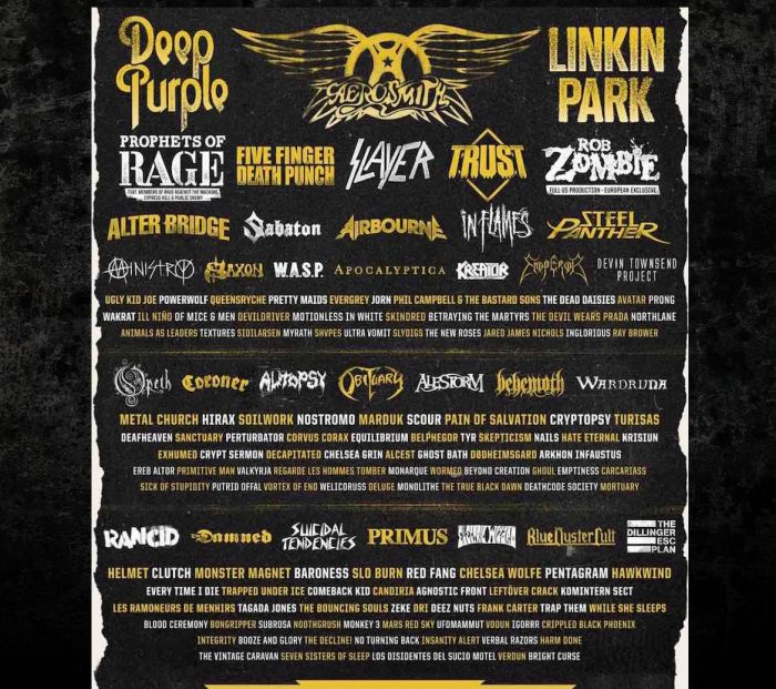 Tour Photographer in Europe at the Hellfest Open Air