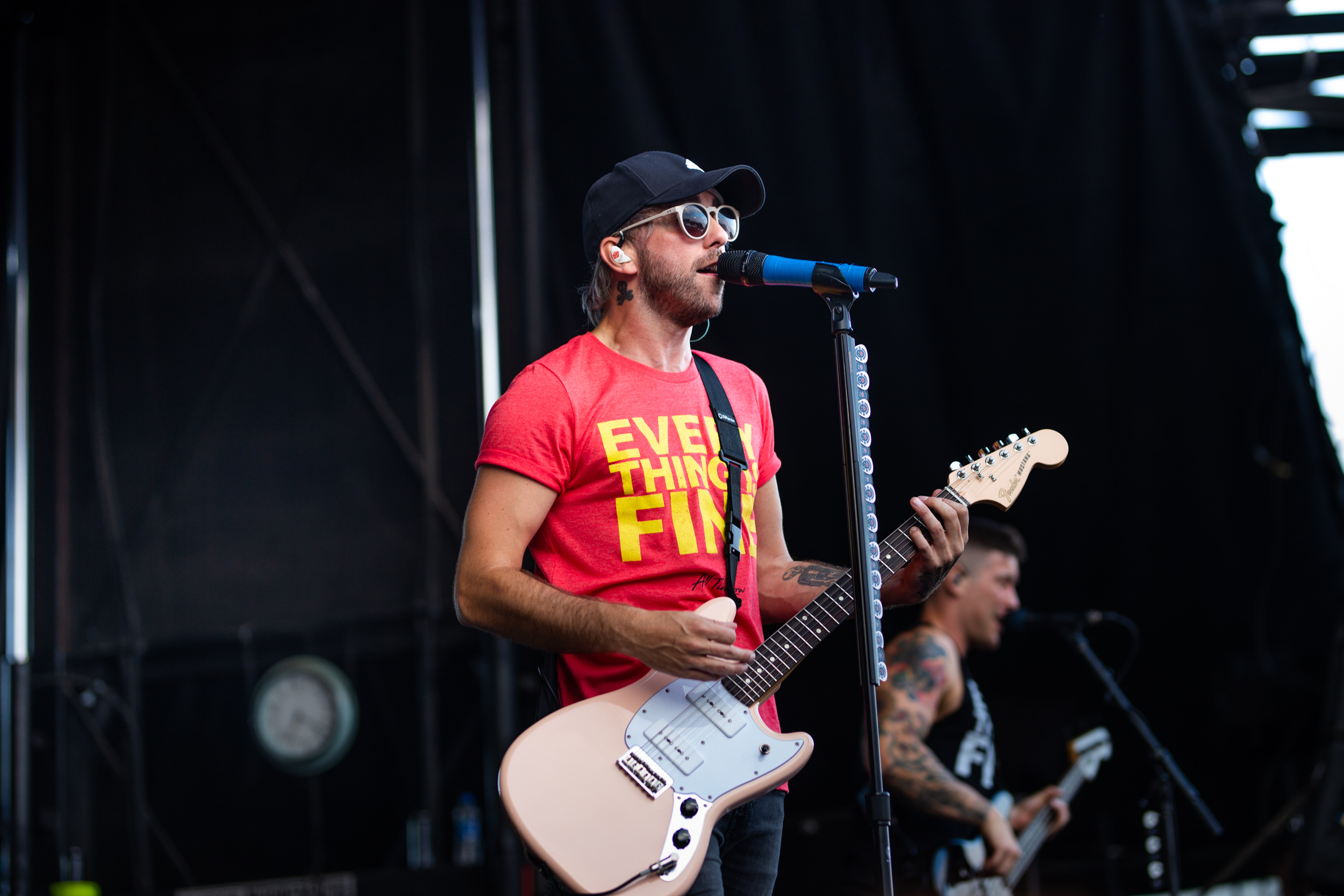Alex of All Time Low at Warped Tour 2018
