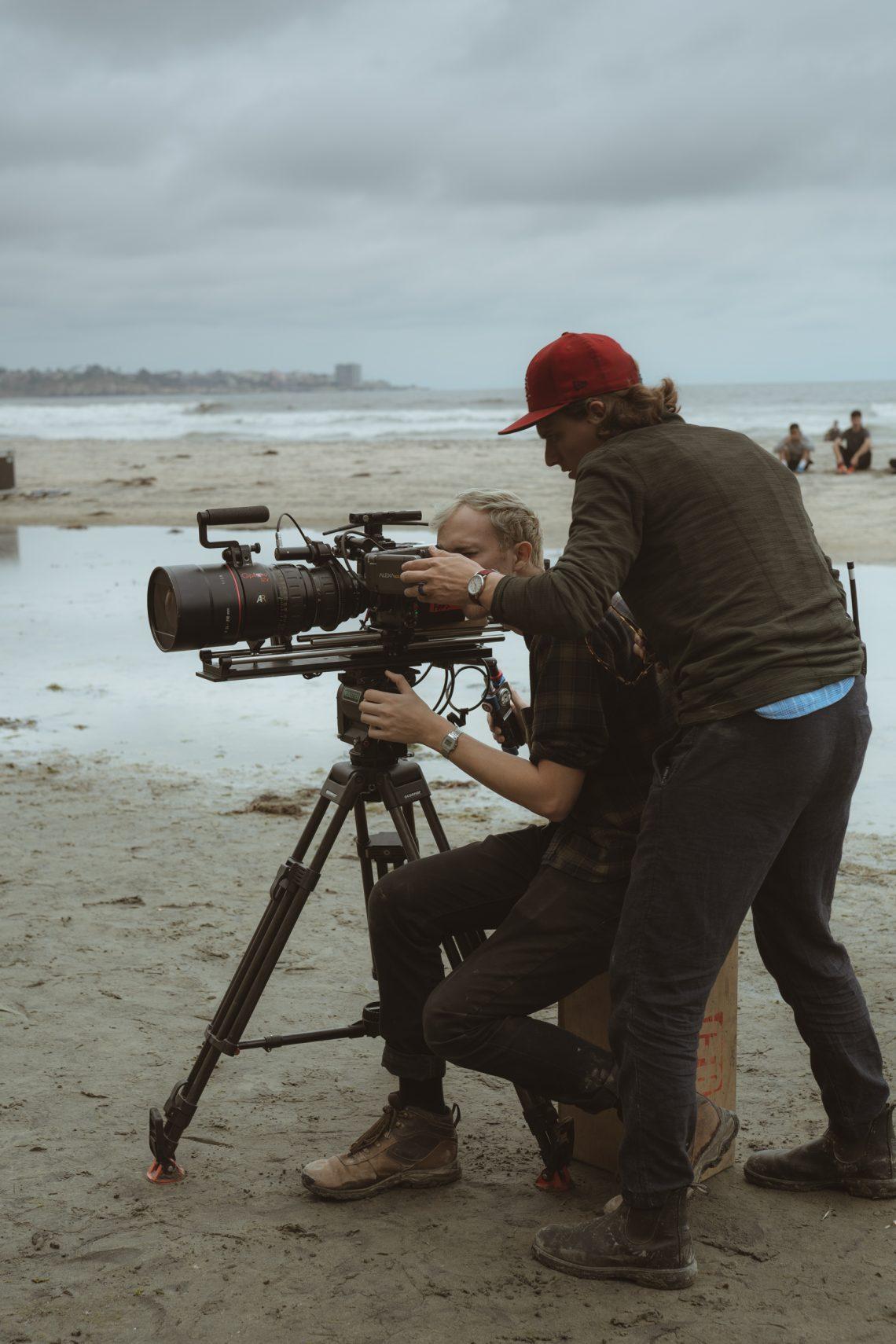 music video filming behind the scenes