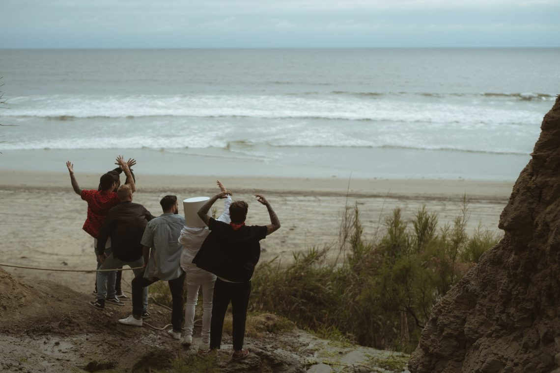 A Day To Remember and Marshmello filming me 'Rescue Me' Music video