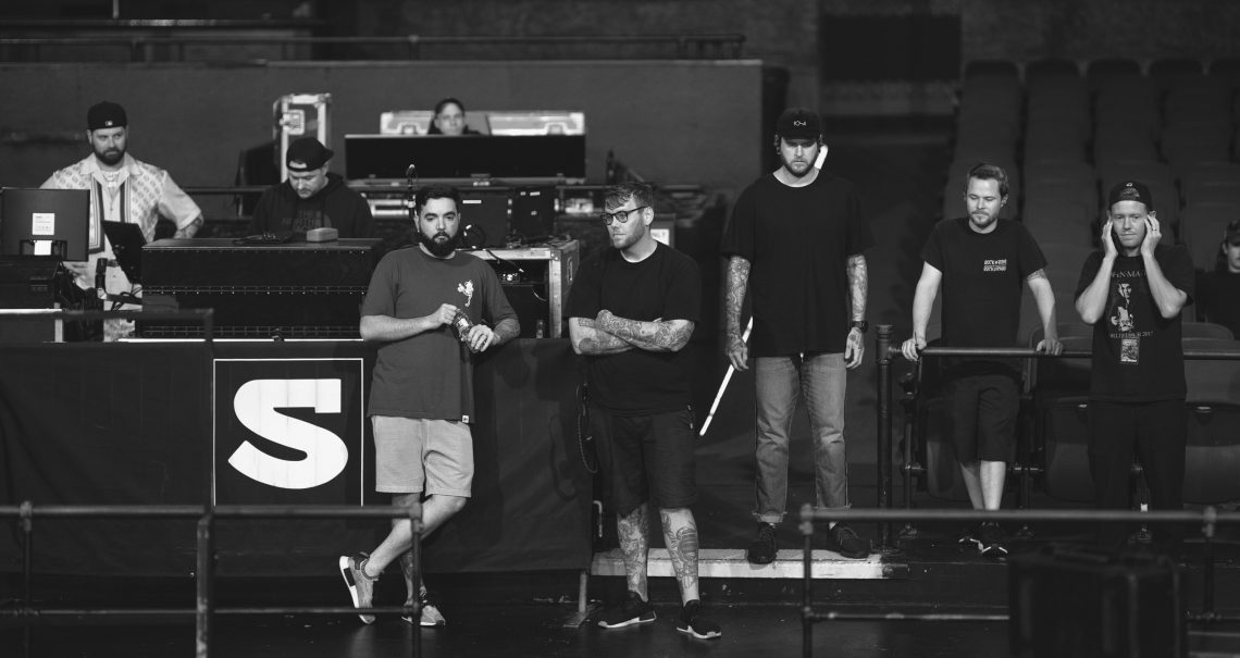 A Day To Remember soundcheck discussion