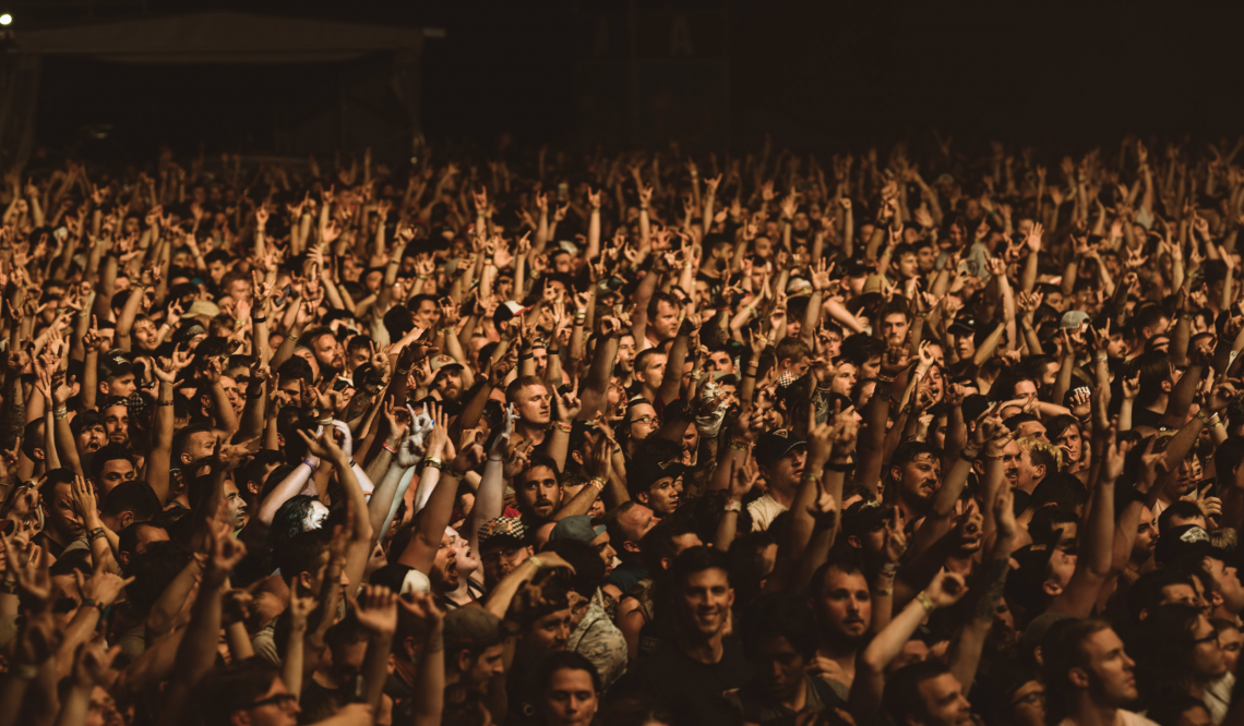 A Day To Remember concert crowd