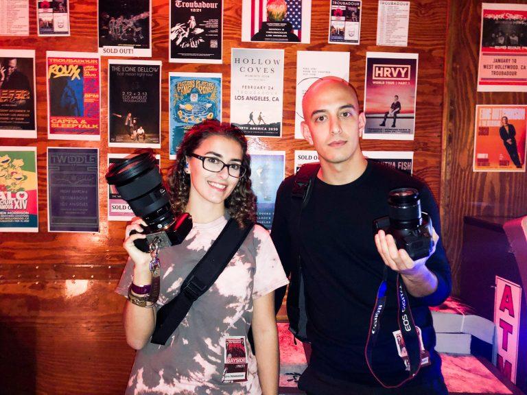 Marisa and Adam Elmakias at The Troubadour