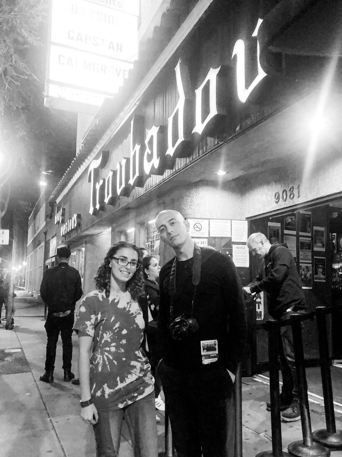 Marisa and Adam Elmakias at The Troubadour